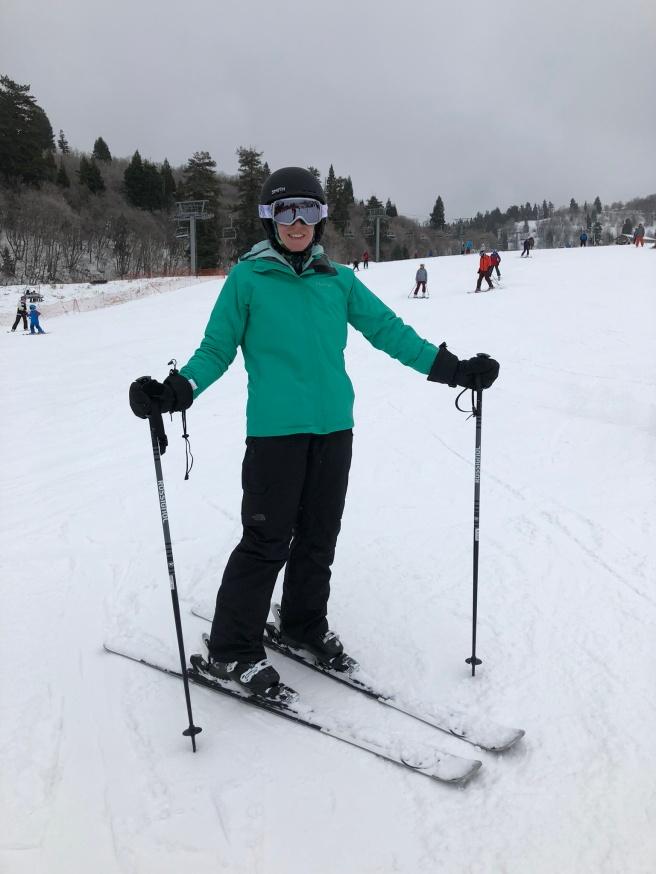 ski Snowbasin day 1