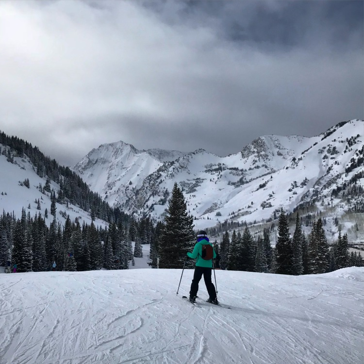 ski Sunnyside Alta
